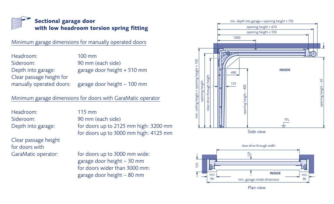 Garador Linear Large Premium 40mm White
